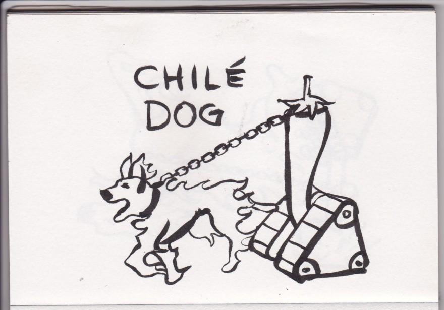 chile dog