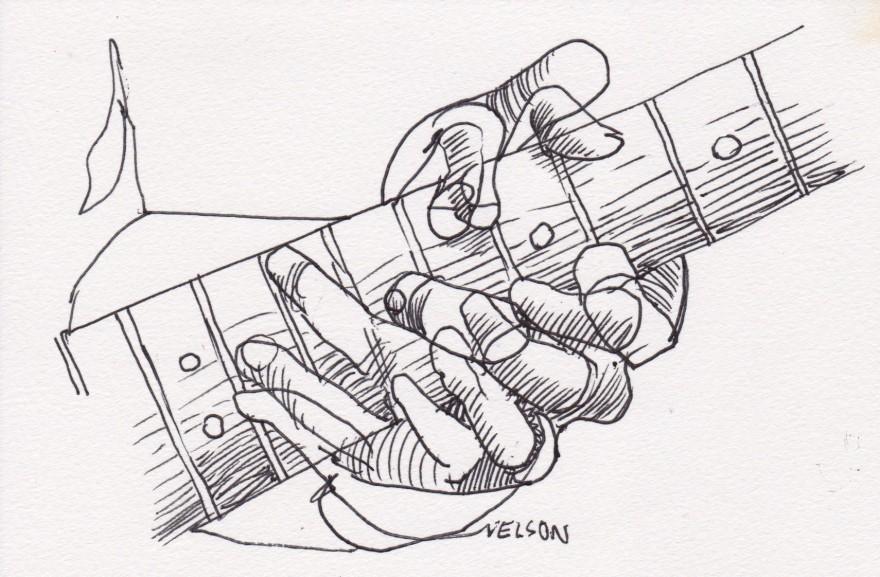 Nola blues hands